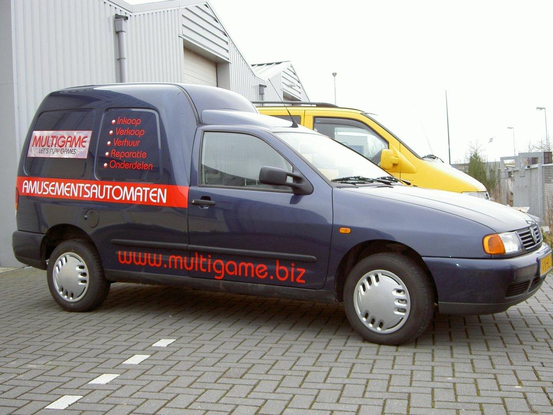 2009 - De toenmalige bedrijfswagen