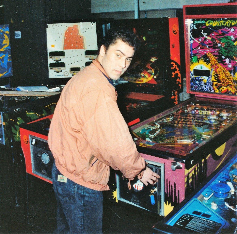 1991 - Gert-Jan op de Hobbybeurs