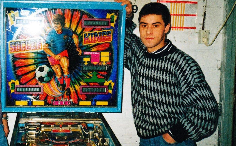 1991 - Gert-Jan begint met High Score