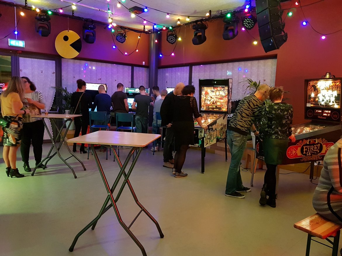 2018 - Flippers en Arcades op Classic XL Party