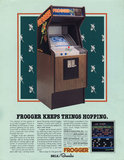 Frogger upright_