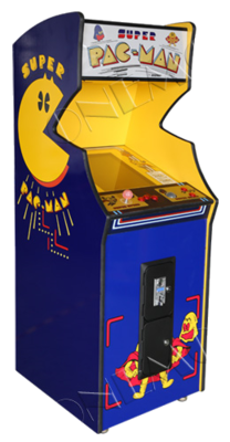 Super Pac-Man upright
