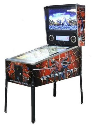 Virtual Pinball Spiderman