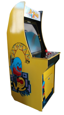 Pac-Man small upright