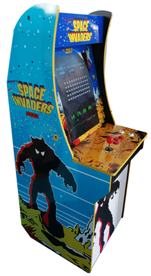 Space Invaders small upright