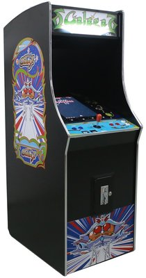 Galaga upright