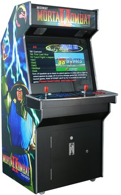 Mortal Kombat 2 Upright 3500