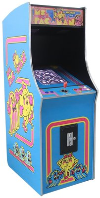 Ms. Pac-Man upright