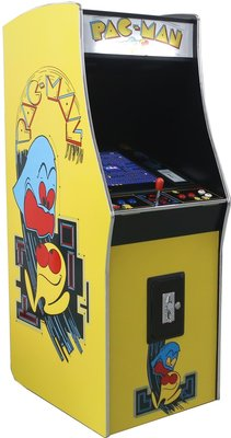 Pac-Man upright