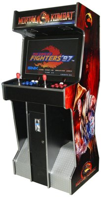 Mortal Combat upright