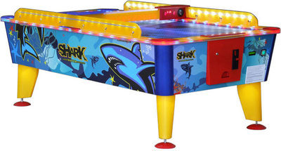 Buffalo airhockey tafel outdoor Shark 8ft (muntproever)