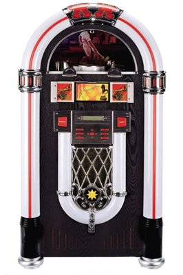 Jukebox met voet