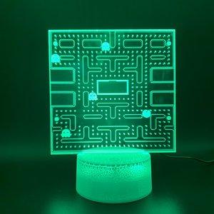 Pac Man led lamp