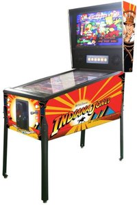 Virtual Pinball Indiana Jones
