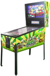 Virtual Pinball Plants vs. Zombies