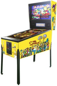 Virtual Pinball The Simpsons