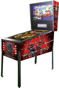 Virtual Pinball Spiderman