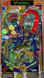 Jet Set Radio pinball