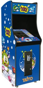 Bubble Bobble 1-speler upright