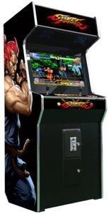 Street Fighter 2 speler Upright