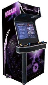 4 Speler Arcade Classic Paars