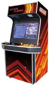 4 Speler Arcade Classic Bruin