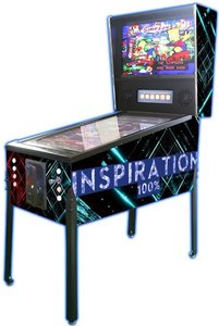 Pinball Inspiration Blue