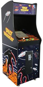 Space Invaders upright