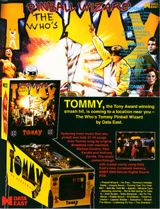 Tommy Pinball Wizard