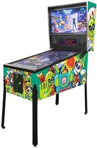 Virtual Pinball Green Art
