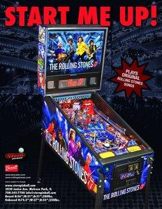 "42"" Virtual Pinball Rolling Stones"
