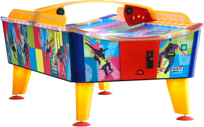Buffalo airhockey tafel outdoor Skate 8ft Holle Kuip (muntproever)