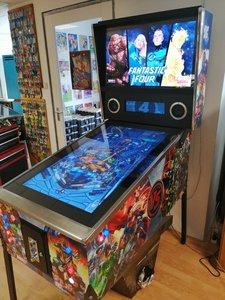 "42"" Virtual Pinball Marvel vs. DC"